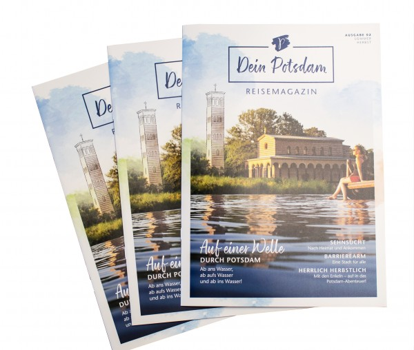 Dein Potsdam - Reisemagazin - Ausgabe 02 Sommer/Herbst