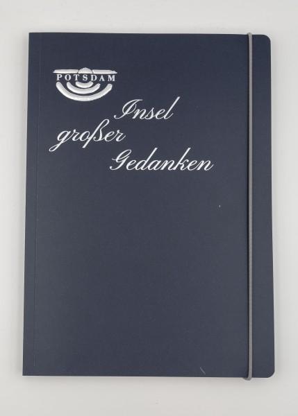 """Notizbuch """"Insel großer Gedanken"""""""