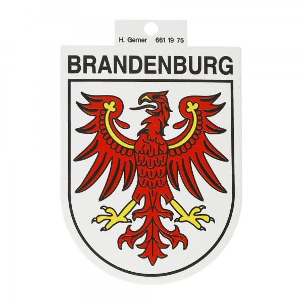 Landeswappen Brandenburg Aufkleber
