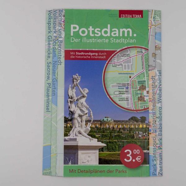 Illustrierter Stadtplan
