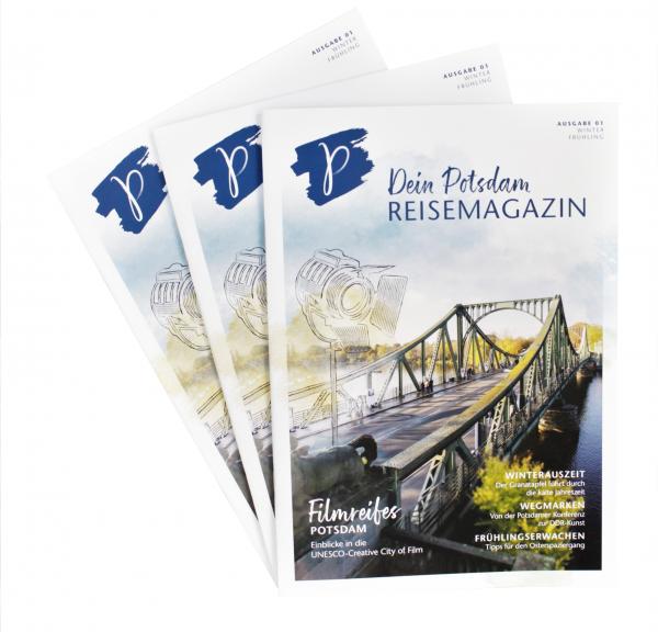 Dein Potsdam - Reisemagazin Ausgabe 01