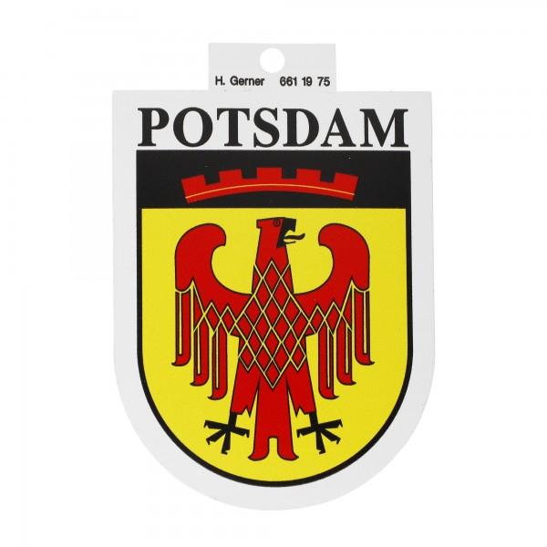 Potsdam Wappen Aufkleber