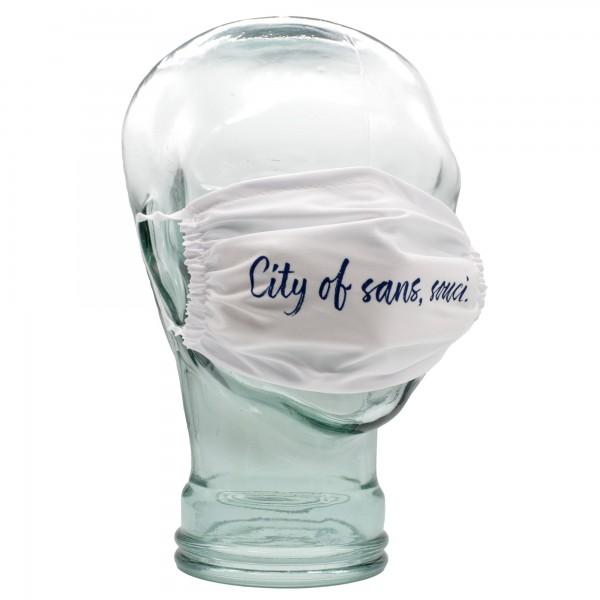 Gesichtsmaske - City of sans, souci